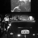 15 A Joel McCrea movie at the Rancho Drive-in Theater, San Francisco, 1948