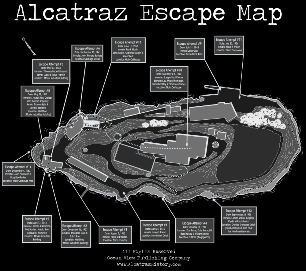 the making of alcatraz The goal of the national park service that manages the facility was to preserve  the historic fabric of alcatraz while making it structurally sound again there were .