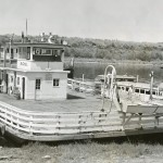 The name on the ferry boat's pilot house is H&C No. 1 which Ed Langford of Marine Supply Co. in Memphis bought from H.E. Bellinger of Tell City, Indiana who very probably knew our hero Bert Fenn